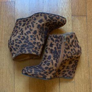 Madden Girl Women's Leopard Print Booties